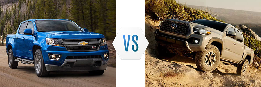 2020 Chevrolet Colorado vs Toyota Tacoma