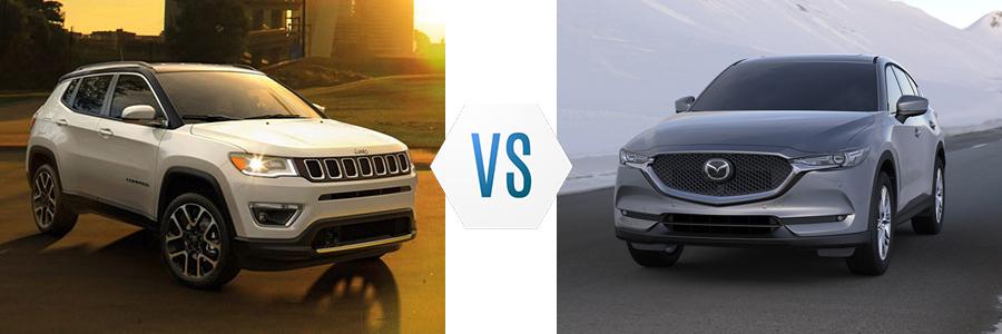 2020 Jeep Compass vs Mazda CX-5