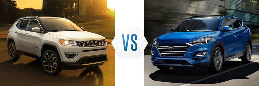 2020 Jeep Compass vs Hyundai Tucson