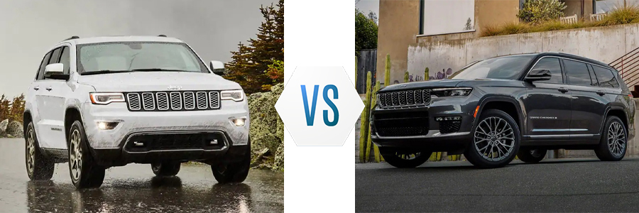 2021 Jeep Grand Cherokee vs Grand Cherokee L