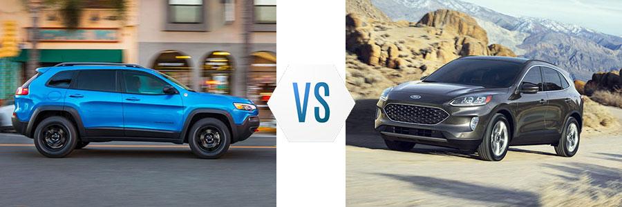 2020 Jeep Cherokee vs Ford Escape