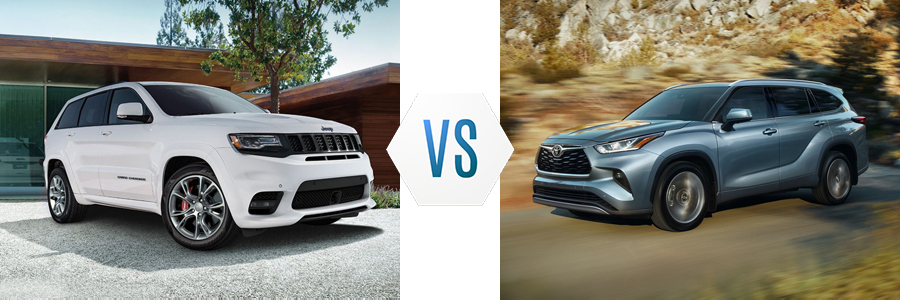 2020 Jeep Grand Cherokee vs Toyota Highlander