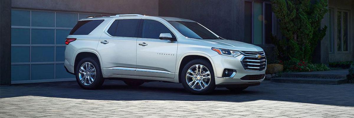 Chevrolet Traverse VS Competition