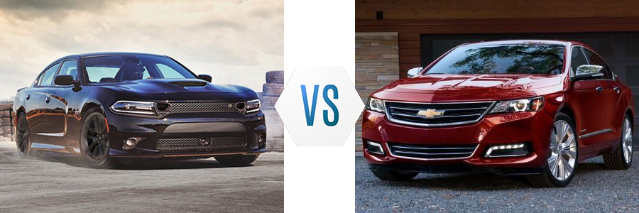 2020 Dodge Charger vs Chevrolet Impala