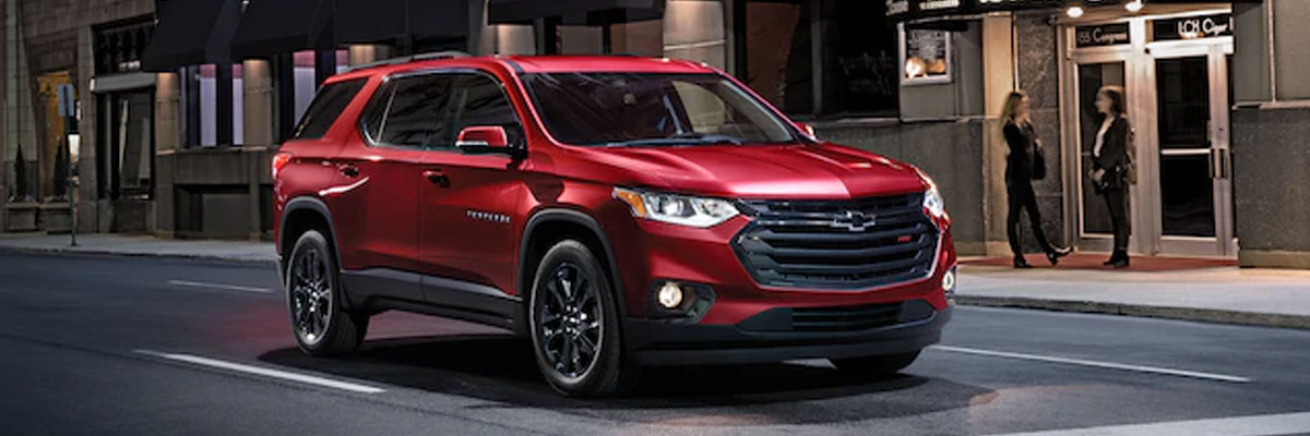new Chevrolet Traverse