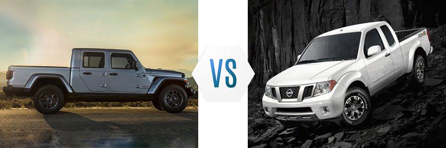 2020 Jeep Gladiator vs Nissan Frontier