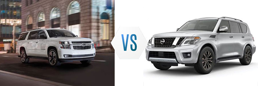 2020 Chevrolet Suburban vs Nissan Armada