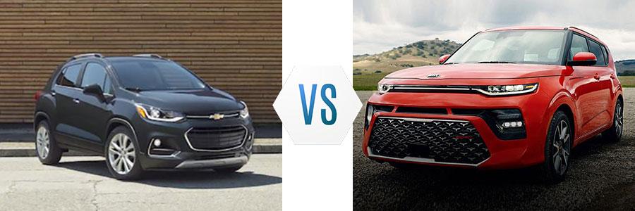 2020 Chevrolet Trax vs Kia Soul